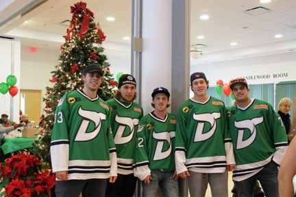 Danbury Whalers Holiday Party 2013