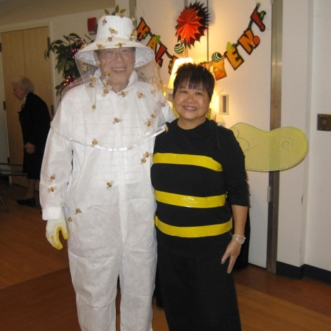 Halloween Walter and Alice