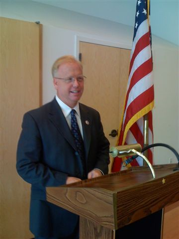 Mayor Mark Bougton