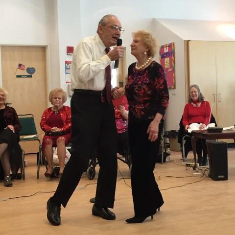 Bernie and Rosalie Singing