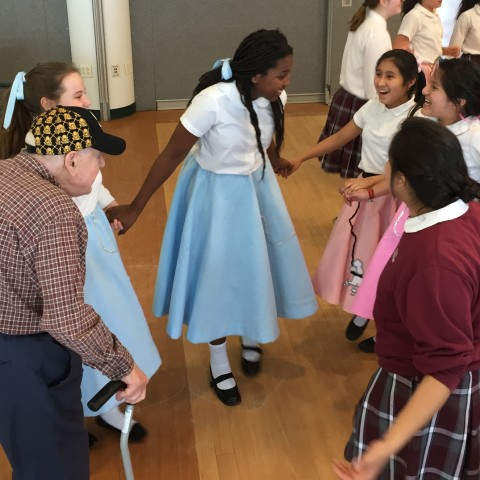 50's Rock and Roll Dance with St. Peter's Students