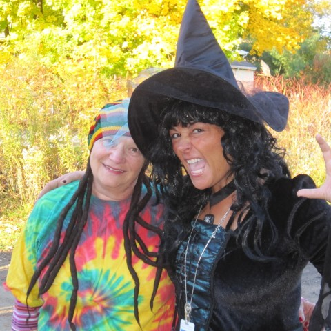 Joyce and Michelle Halloween 2015