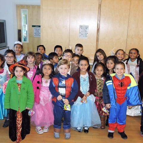 St. Peter's Kindergarten Class Halloween Costume Parade 2015