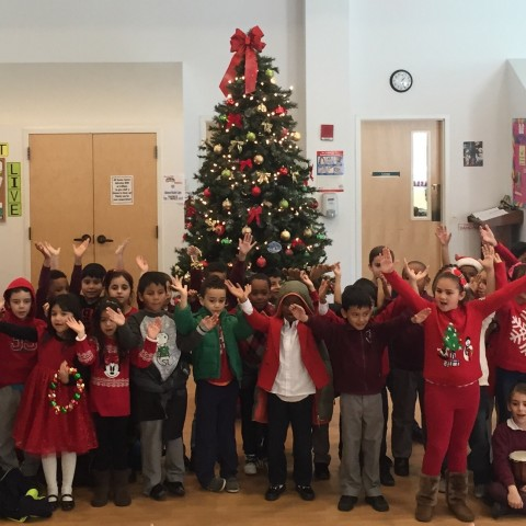 St. Peter's 2nd grade Students sing Stay Awake