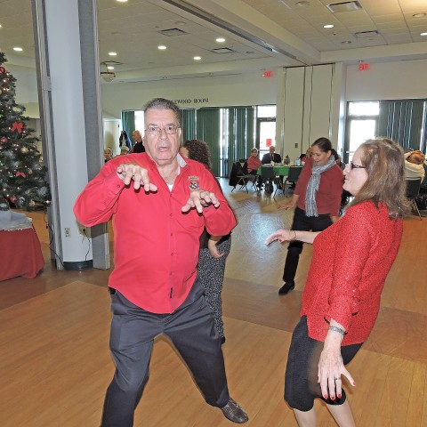 Thriller at the Holiday Party