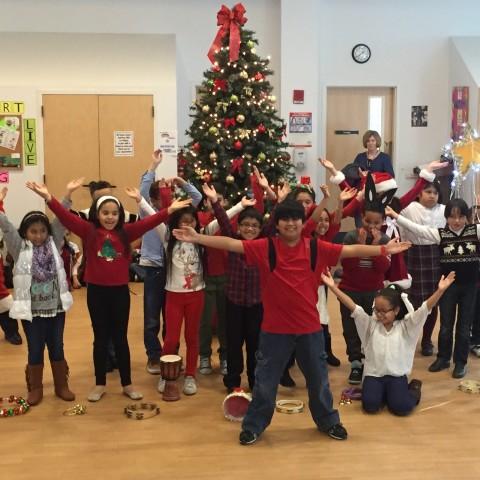 St. Peter's 3rd Grade Students Sing Drummer Boy