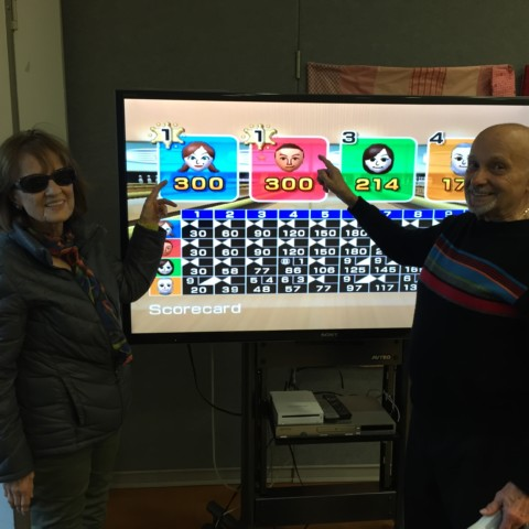 Dynamic Wii Bowling Duo!