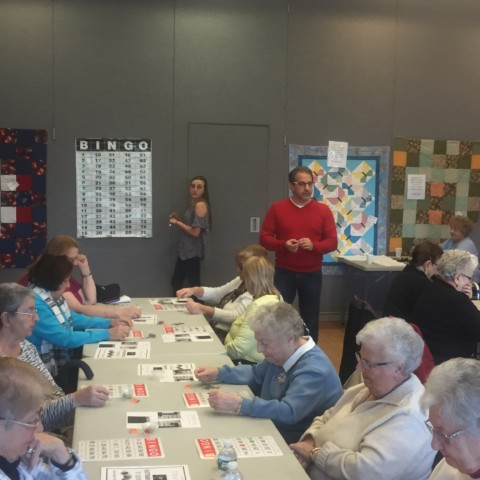 January 2017 Bingo sponsored by Quality Hearing Aid Center, LLC