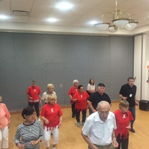 Line Dance Practice Class!