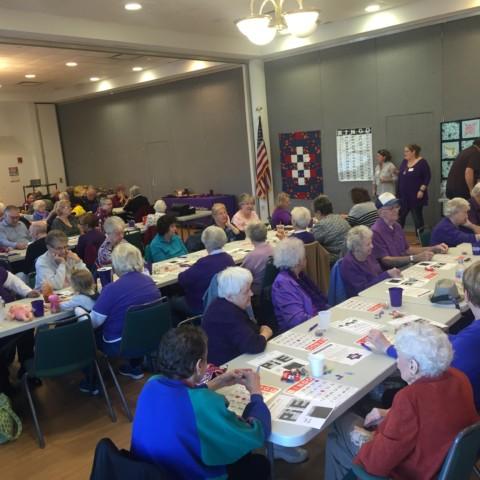 November Bingo sponsored by Alzheimer's Association - CT Chapter