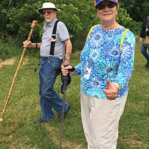 Hike at Tarrywile - Joyce and John