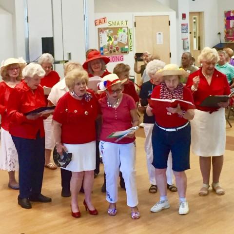 Lovely Ladies of Elmwood's Finest Chorus